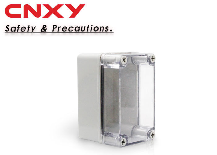 IP67 Waterproof Terminal Box 130*80*85 Millimeter Easy Processing