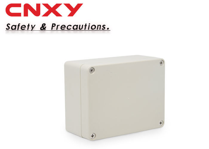 Small Waterproof Ip65 Junction Box , Electrical Enclosure Box 115*90*55 Mm