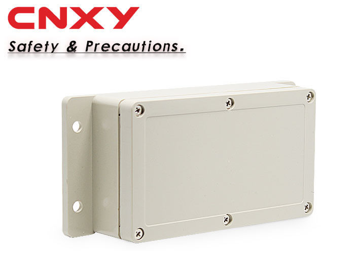 Pale Gray ABS Junction Box , Universal Plastic Enclosures For Electronics